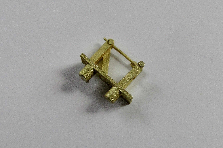 No.0560 車軸発電機吊り逆向き[電灯子車/器具台対応]